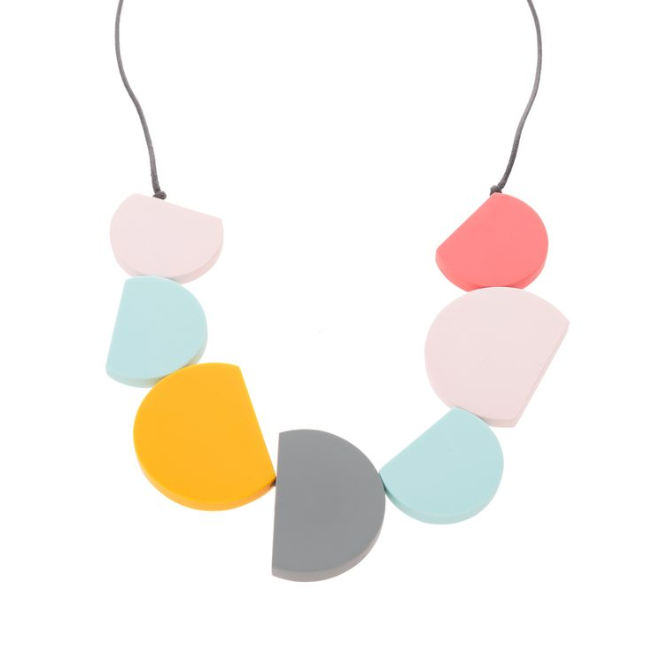 Buy the Semi Circular Necklace at Oliver Bonas. Enjoy free worldwide standard delivery for orders over £50.