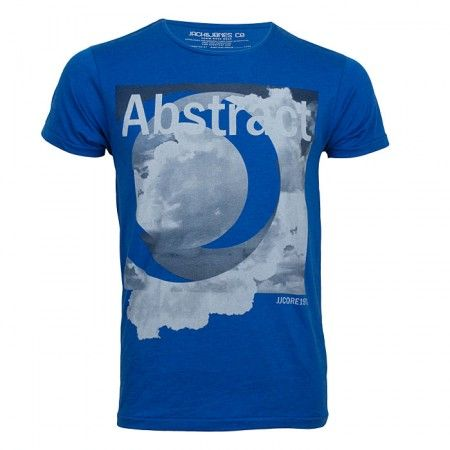 Jack and Jones T-Shirt Sky Tee Slim Blue