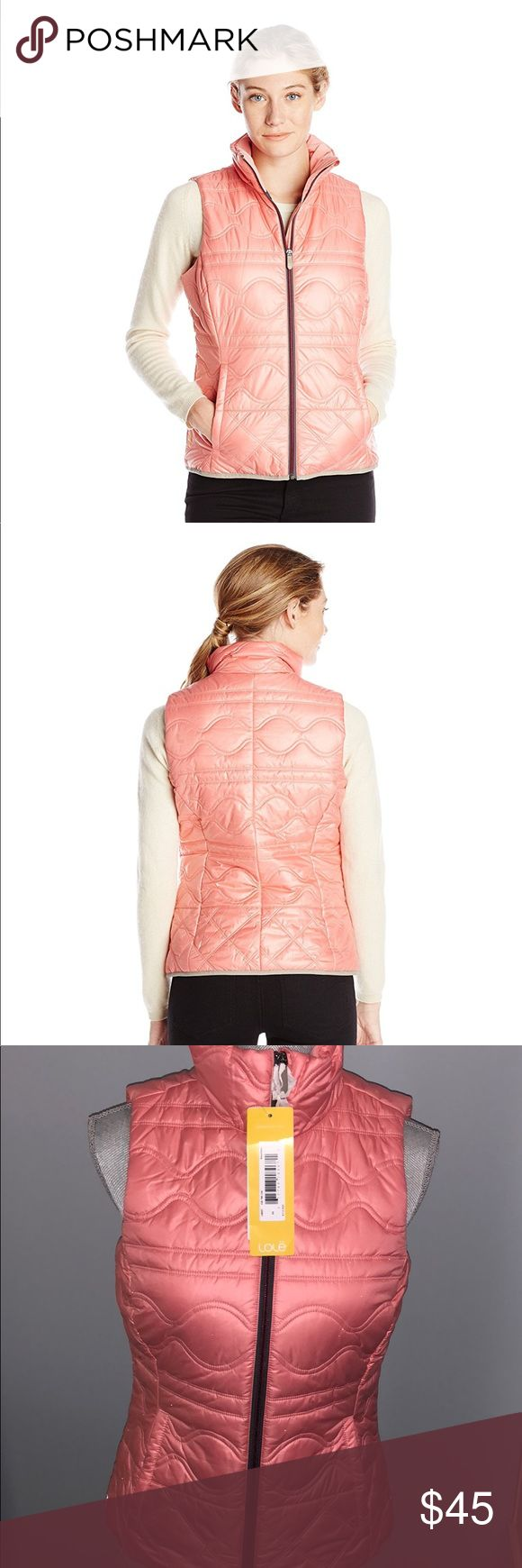 "NEW Lole Icy Puffer Vest New with tags. LOLE ""Icy 2"" puffer Vest. Water repellent and wind proof with synthetic fill. Women's size extra small in ""pink lush"" salmon pink. Lole Jackets & Coats Vests"