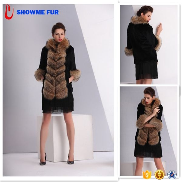 Terse Womens Down Winter Coats And Jackets With Raccoon Fur Collar For Best Sell