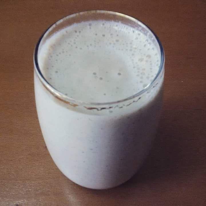Batido de maçã, aveia e leite de arroz | SAPO Lifestyle