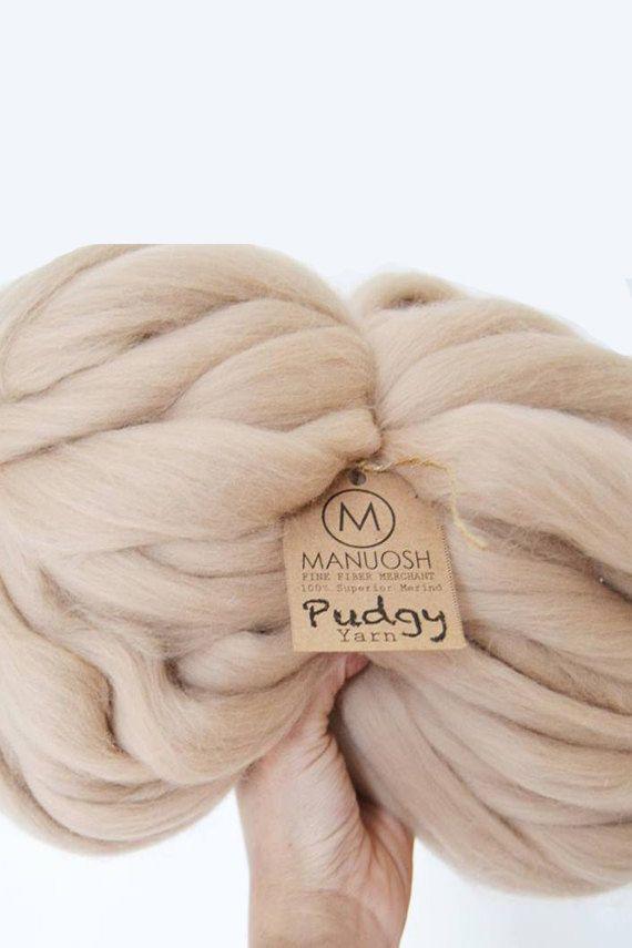 Pudgy enorme Super Chunky & Super ingombranti lana di MANUOSH