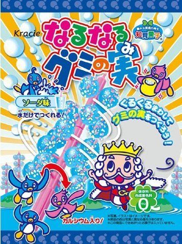 Popin' Cookin' DIY Narunaru Gummy no Mi Soda Flavor by Kracie by Kracie >>> More info could be found at the image url.