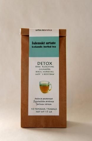 The ingredients of this tea, Downy birch (Betula pubescens), Horse tail (Equisetum arvence) and Lady's bedstraw (Galium verum) are all con-sidered useful for the cleansing of the body. Birch cleans the blood, is bactericidal and diuretic, Horse tail effectively removes toxins from the body and Lady's bedstraw is also believed to be good at this, e.g. for cleansing the blood after the use of strong medicine, alcohol or after excessive coffee-drinking. Considered beneficial for the lymphatic…
