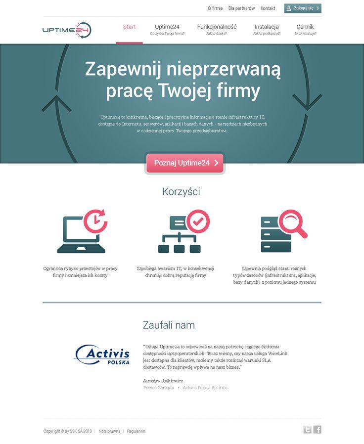Responsive Web Design for SSK (uptime24.pl)