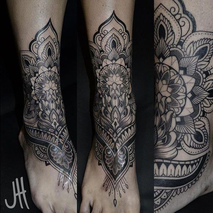 Ankle Tattoo Mandala Foot Tattoo Anklet Tattoos Henna Leg Tattoo Feet Tattoos Ankle In 2020 Ankle Tattoo Cover Up Ankle Foot Tattoo Cover Up Tattoos