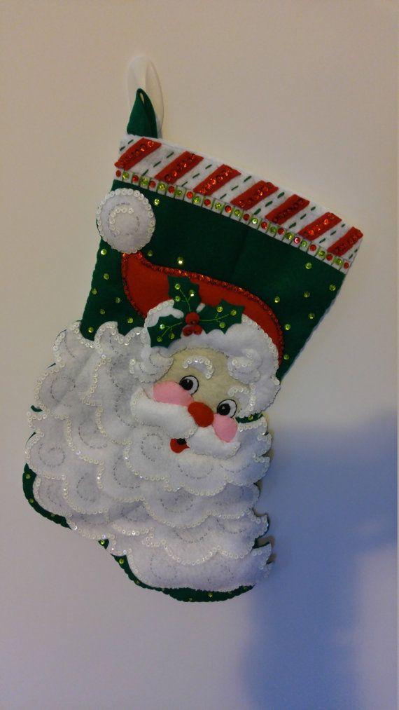 Bucilla Jolly St. Nick fieltro Navidad 18