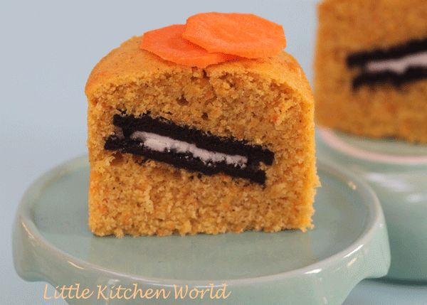 Muffin alla carota con sorpresa!