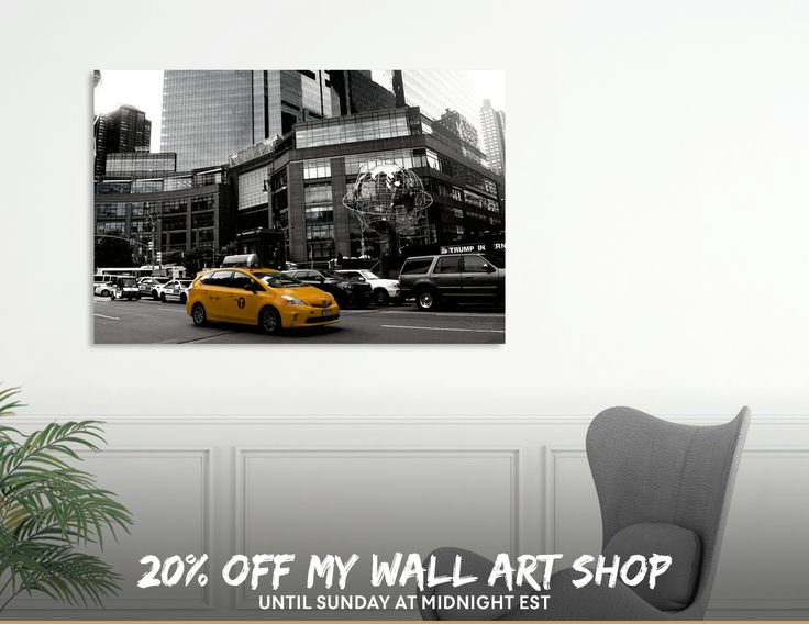 Discover «New York», Exclusive Edition Aluminum Print by Haris Kavalla - From 55€ - Curioos