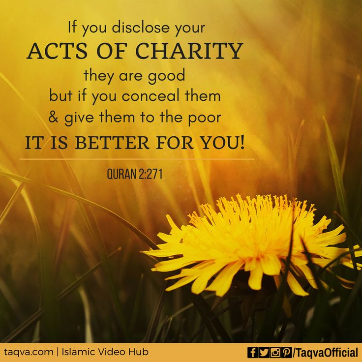 """If you disclose your acts of #charity, they are good; but if you conceal them and give them to the #poor, it is better for you"" #Quran 2:271 #islam #islamic #reminder #quotes #islamicreminder #islamicquotes #charity #sadaqah #sadaqa #muslim #muslims #muslimah #ummah #religion #righteousness #righteous #deeds #peace #truth #love #humanity #morals #life #lifestyle #wayoflife"