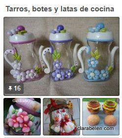 309 mejores im genes sobre mi blog y manualidades my for Botes de cocina decorados con goma eva