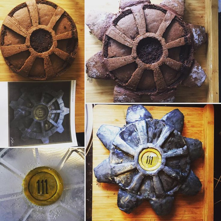 Vault 111 Fallout 4 Birthday Cake Kitchen Looks And