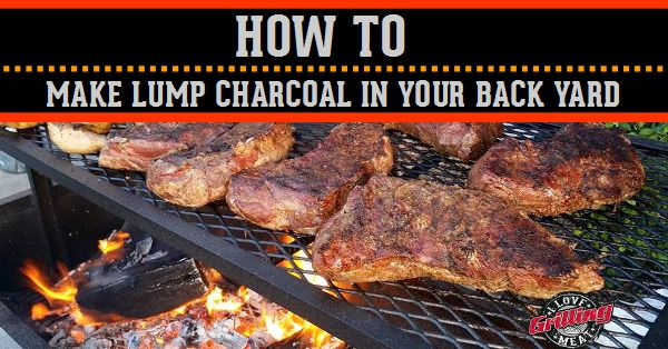 Discover 3 different methods of how to make lump charcoal in your backyard and never spend your money on store bought charcoal again.