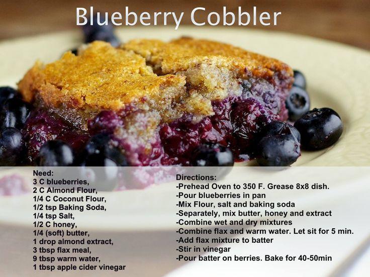 No sugar cobbler