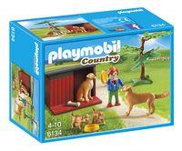 Playmobil Country 6134 Enfant avec famille de Golden Retrievers