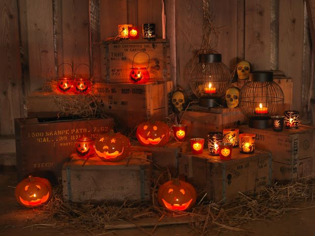 nille: Herlige, skremmende Halloween!