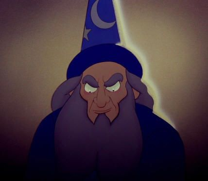 The Sorcerer in Disney's Fantasia #magician #archetype #brandpersonality