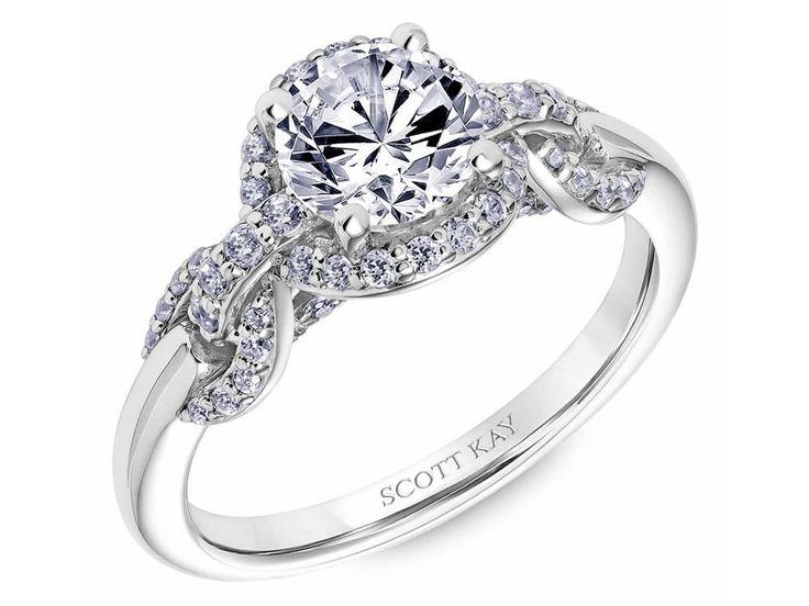 31 SK6036ERP E00 Engagement Ring HaloScott KayHalo