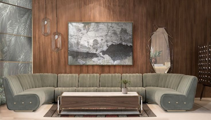 Are you a fan of mid-century furniture style? And jazzy ambiances? If so, you are in the right place. Check out this amazing design, absolutely gorgeous. What do you think? I love this lamps. What about you? www.delightfull.eu   #delightfull #uniquelamps #lighting #floorlamps #tablelamps #floorlamps #homedesign #homedecor #designlovers #midcentury #gorgeous #luxuryfurniture