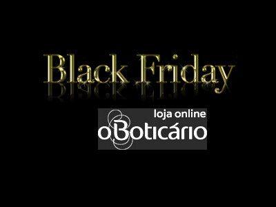 Codigo Cupom de /desconto o Boticario: O Boticario Black Friday 2016