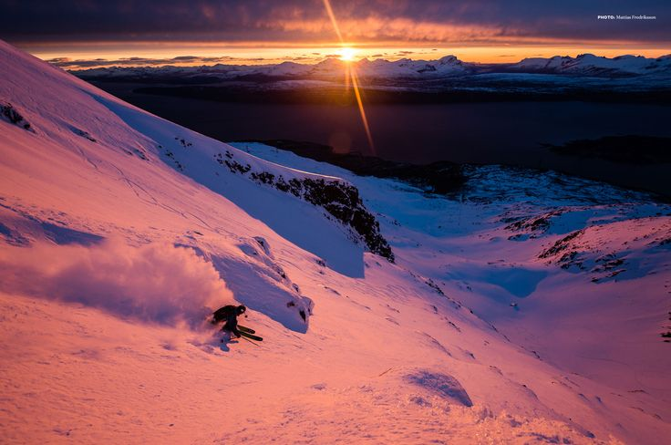 The Dark and the Light is a Powder Productions short film on Narvik, Norway, a World War II battleground and skier's paradise.