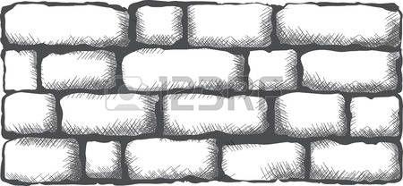 cihla: černá cihlová zeď