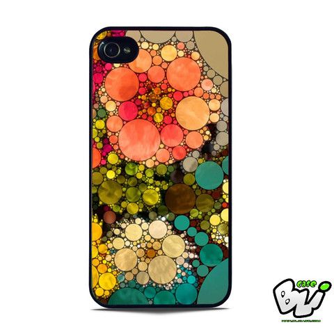 Pattern Round Full Color iPhone 5 | iPhone 5S Case