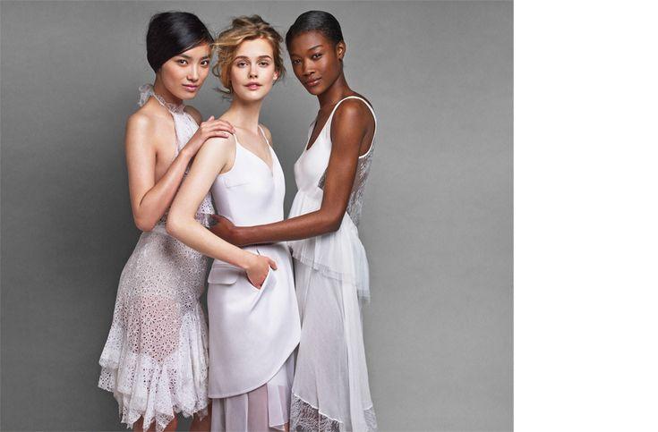 Cover Story | The White Dress: Nina Ricci, Preen by Thornton & Bregazzi & Jason Wu | Magazine | NET-A-PORTER.COM