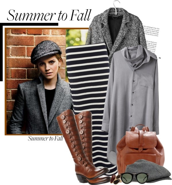 """Summer to Fall"" by spenderellastyle ❤ liked on Polyvore"