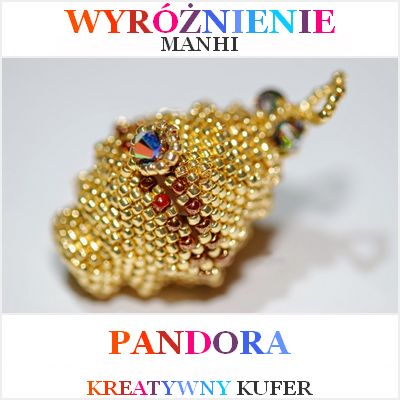 Wyniki Wyzwania Tematycznego - Mityczna postać: Pandora | Kreatywny Kufer http://koralikimanhi.blogspot.com/