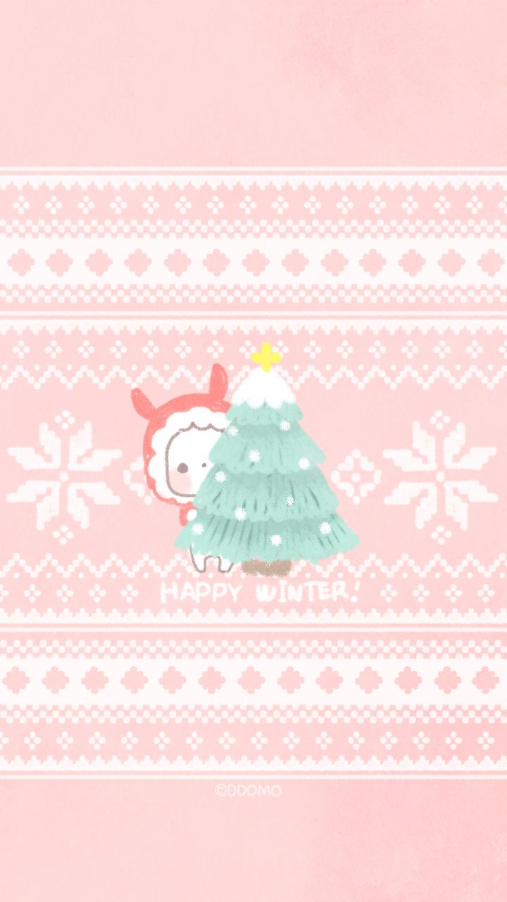 28 Best Cute Xmas Wallpaper Images On