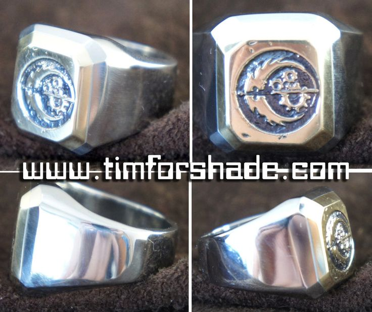 Fallout Brotherhood of steel ring by TimforShade on DeviantArt