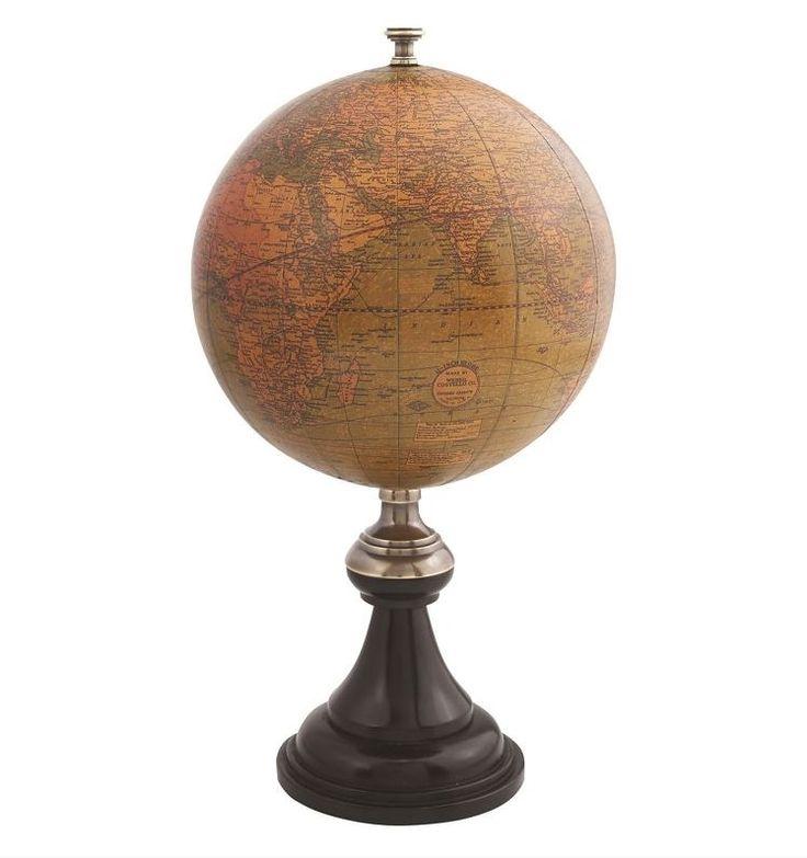 Globo Versailles. Questo mappamondo è una riproduzione del XVI° attribuita alla biblioteca di Versailles e del Re Sole. Vieni a vederlo presso il nostro showroom! #SalesByCaroti #Saldi PREZZO: € 72 (Sconto 40% - Prezzo originale € 120) Cod. Prodotto: A044