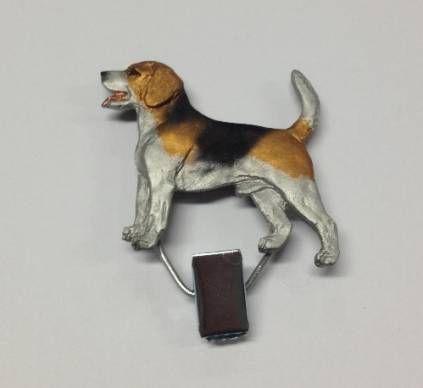 Hundeausstellungs-ClipsHundeausstellungs-Startnummern-Clip: Beagle