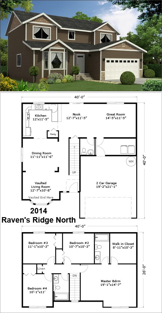 17 best two story floor plans images on pinterest floor plans ravens ridge north 2014 sf malvernweather Image collections