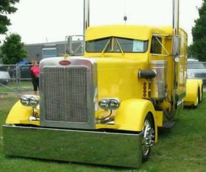 Bright custom pete trucks no one loves me tractors