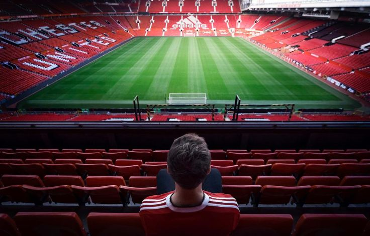 'New' Old Trafford, with Adidas signage