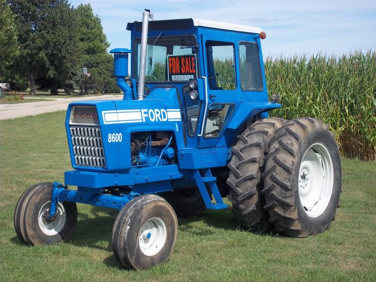 Big Ford Tractors : Ford  tw