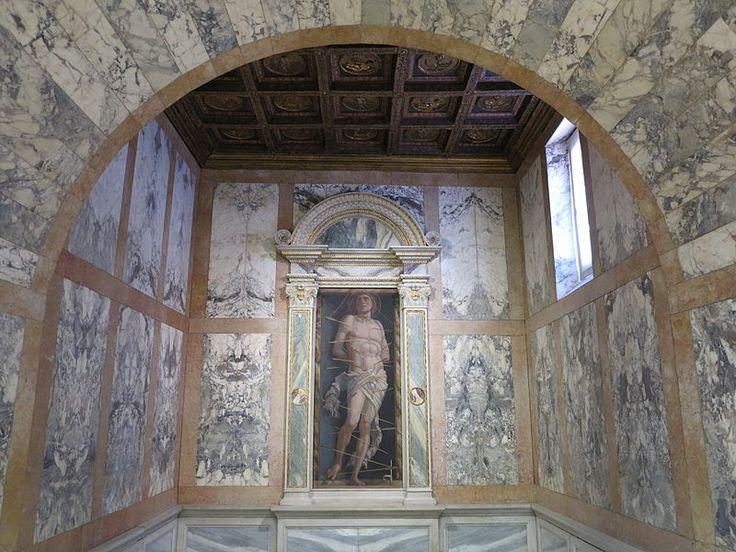 с.1506.San Sebastiano di Andrea Mantegna.Galleria G. Franchetti alla Ca' d'Oro - MIBAC.
