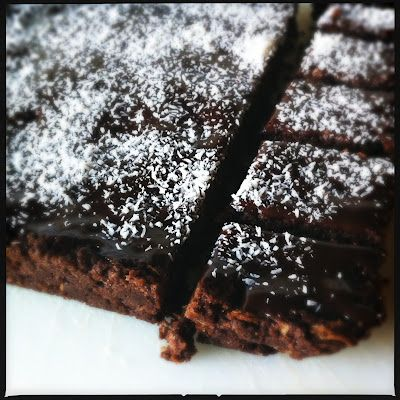 thermomix easy chocolate weet-bix slice - yum!