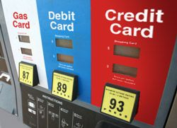 "Using credit, debit card to buy gas now a major financial decision.  GAS PURCHASE NOW CARRIES A $1.00 ""PRE-AUTHORIZATION"" CHARGE FROM THE CARD COMPANY.  ALSO - USE DEBIT PIN NUMBER TO AVOID ""BLOCKING"" OF $75-$100 IN YOUR ACCOUNT TO COVER PURCHASE."
