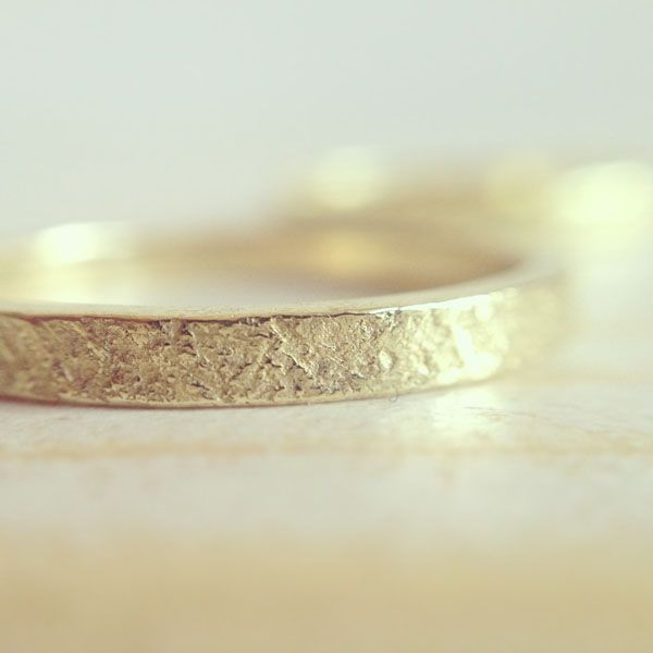 Green wedding band by My Golden Age