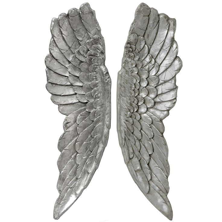 Beautiful and large Angel wings, 105cm long in Antique silver £179.99 . Love the detail on these perfect wings!