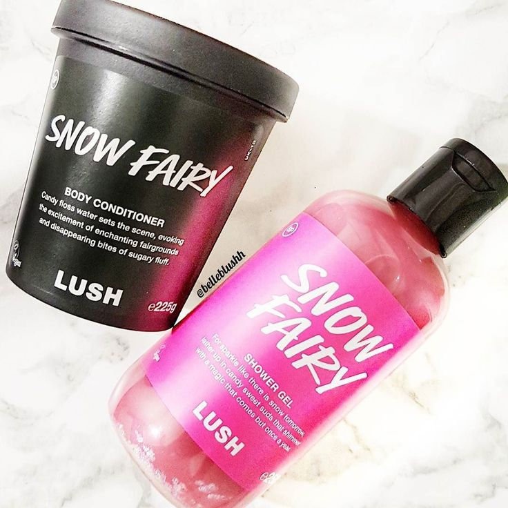 I've always been a self proclaimed Lushie but it's the first time trying the snow fairy range and I'm obsessed  Have you tried it yet? #yumyum #belleblushh #makeup #blogger #makeupjunkie #lush #lushsnowfairy #limitededition