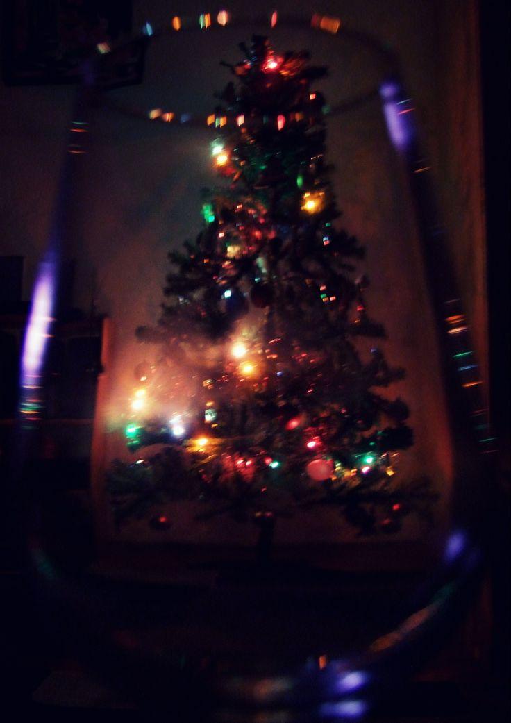 Christmas tree and a wine glass.#christmastree #christmas