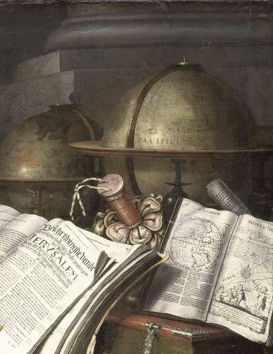 Vanitas stilleven, Edwaert Collier, 1662 - Stilleven-Verzameld werk van Marjolein Moonen - Alle Rijksstudio's - Rijksstudio - Rijksmuseum