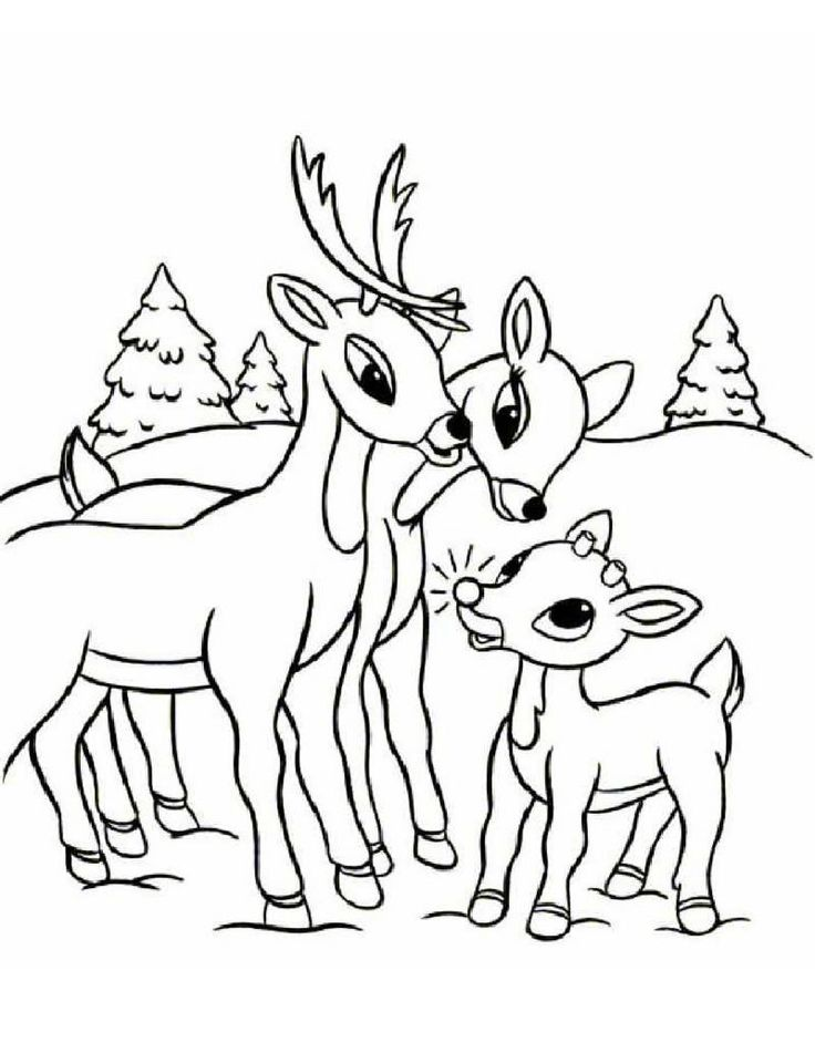 Deer Face Coloring Pages. Free Printable Reindeer Coloring Pages For Kids 60 best Daycare colouring pages images on Pinterest  Children