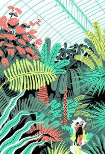 In the Greenhouse on Behance — Designspiration