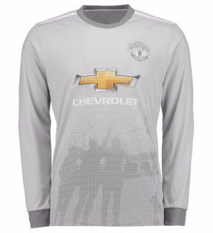 Manchester United 2017-18 Season LS Third Man Utd Shirt [K764]