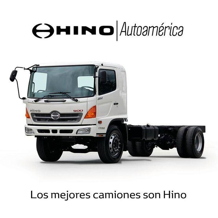 Si necesitas un camión grande, el #Hino GH largo es una opción que puedes considerar. Es de alta eficiencia y cuenta con la mejor tecnología japonesa. Ven a conocerlo en #Autoamérica https://goo.gl/352HvG